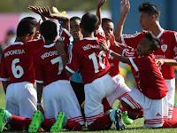 Mantap! Garuda Cilik U-12 Indonesia Tumbangkan Inggris dan Lolos ke Babak 16 Besar