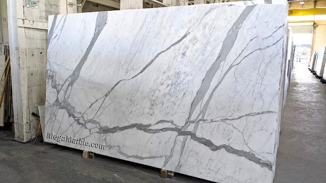 Statuary 2cm Marble Slabs Honed