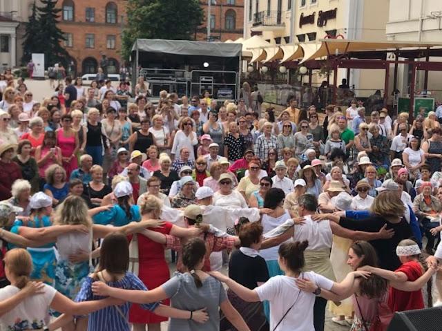 """Φεστιβάλ της Ελληνικής Κοινότητας της Λευκορωσίας «Πελοπόννησος» με τίτλο """"Καλημέρα"""""""