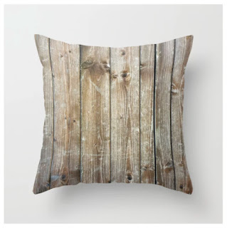 Rustic Wooden Plank Texture -Farmhouse Throw Pillow