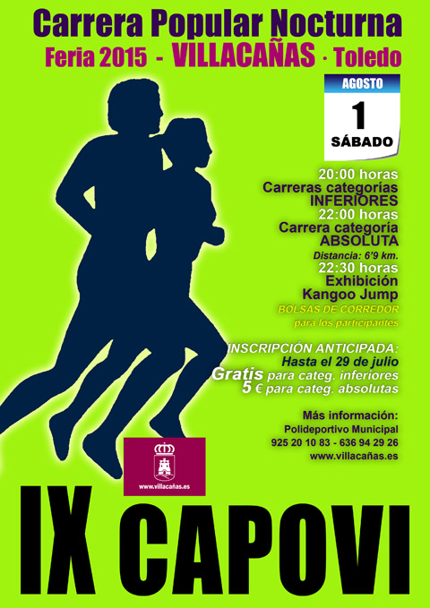 IX Carrera Popular de Villacañas