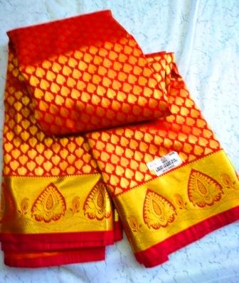 Kanjivaram traditional saree-13