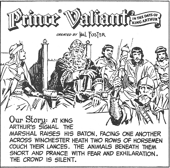 A Prince Named Valiant: The Melee