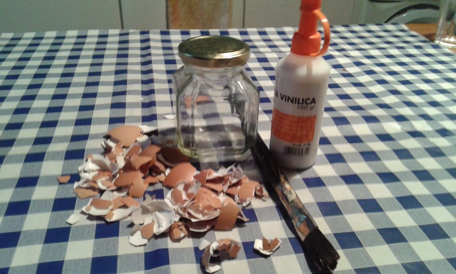 Centomilaidee come decorare un barattolo con i gusci - Come decorare un barattolo ...
