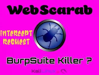 Webscarab Kali linux