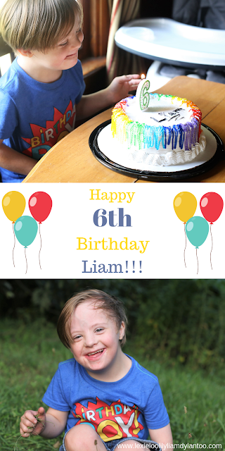 Happy 6th Birthday, Liam!!!