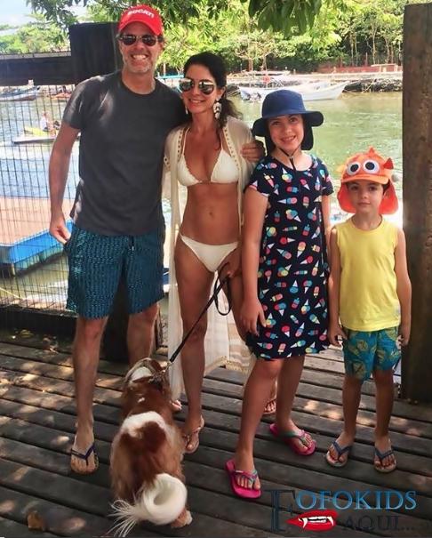 Ana Paula Padrão e familia