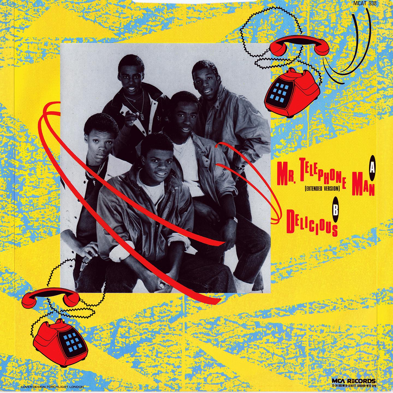 Music Rewind New Edition Mr Telephone Man 12 Lp 1984