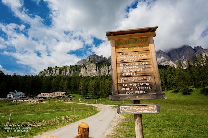 El brite de larieto, cortina d'ampezzo: The Tastes Of The Dolomite Tradition At El Brite De Larieto In Cortina D Ampezzo