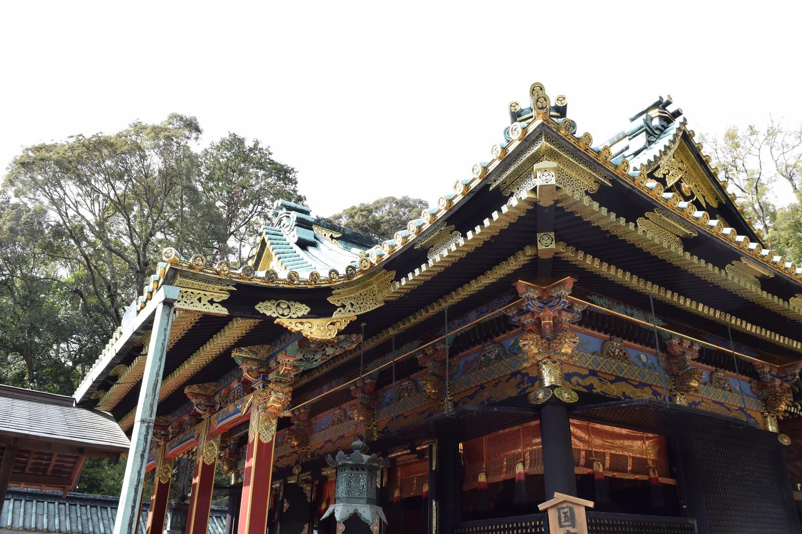 Kunozan Toshogu in Shizuoka Japan