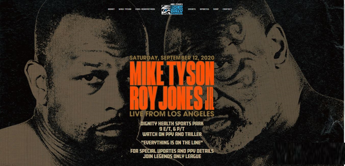The Best Mike Tyson Vs Roy Jones Poster