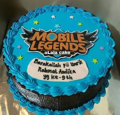 Kue Ultah Mobile Legends
