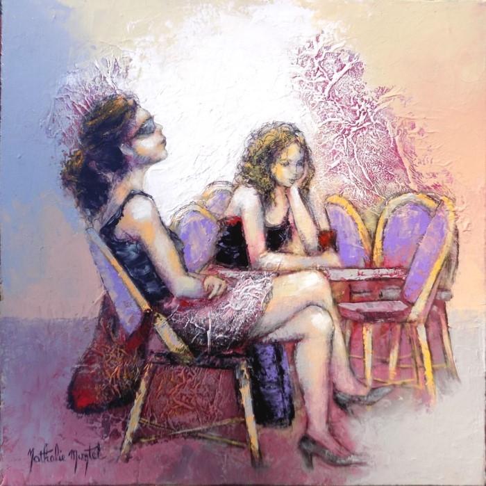 Французский художник. Nathalie Montel
