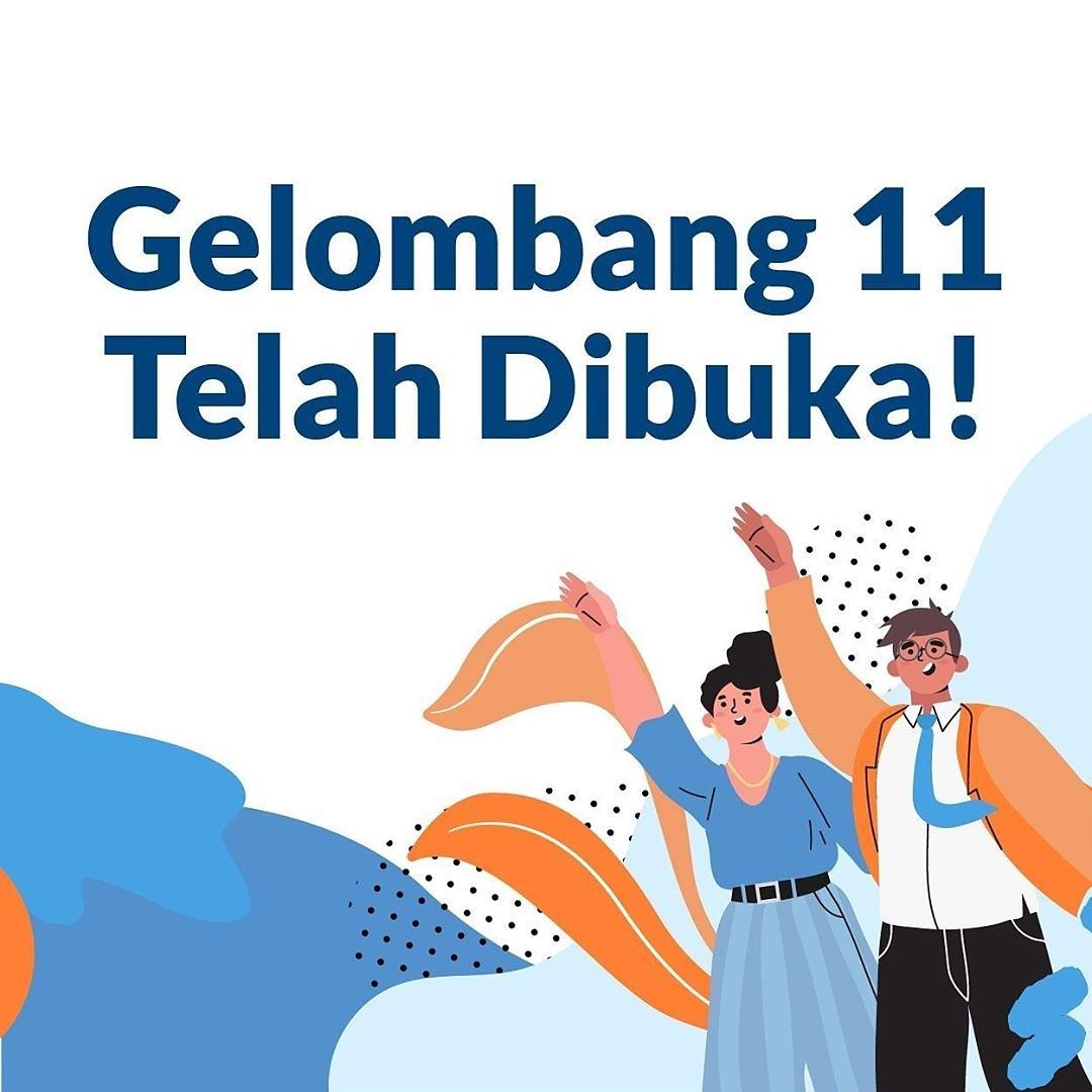 Gelombang 11 Kartu Prakerja telah dibuka Kawan Rembang !