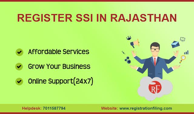REGISTER SSI IN RAJASTHAN (Part-3)