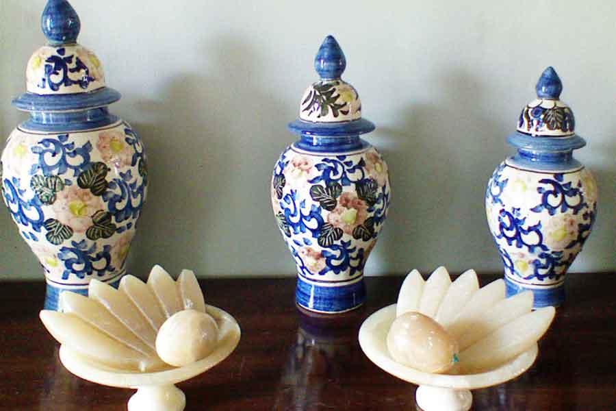 hiasan keramik untuk rumah