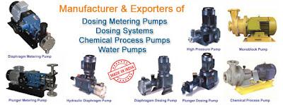 Metering Dosing Pump Manufacturers in India