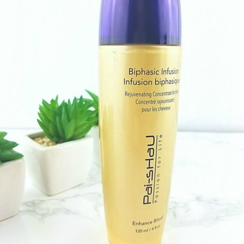 Pai Shau Tea Infused Hair Care | The Real Scoop Biphasic Infusion