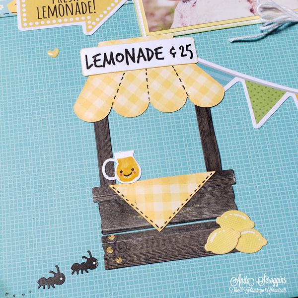 Lemonade Stand Die set