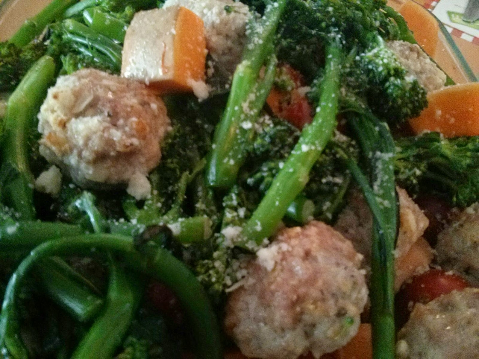 Italy, with Lemon Pork Meatballs