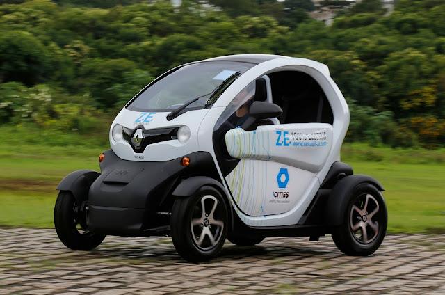 Renault Twizy é homologado para ser vendido no Brasil