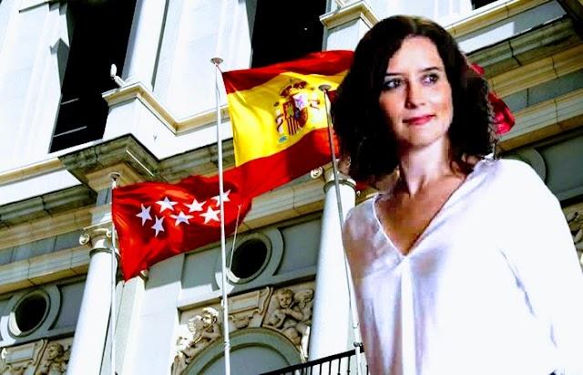 Isabel Díaz Ayuso segura de su triunfo en Madrid