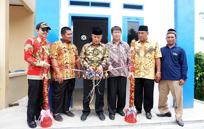 Plt Bupati Nanang Ermanto Resmikan Pamsimas di Desa Hatta Kec. Bakauheni Lamsel.
