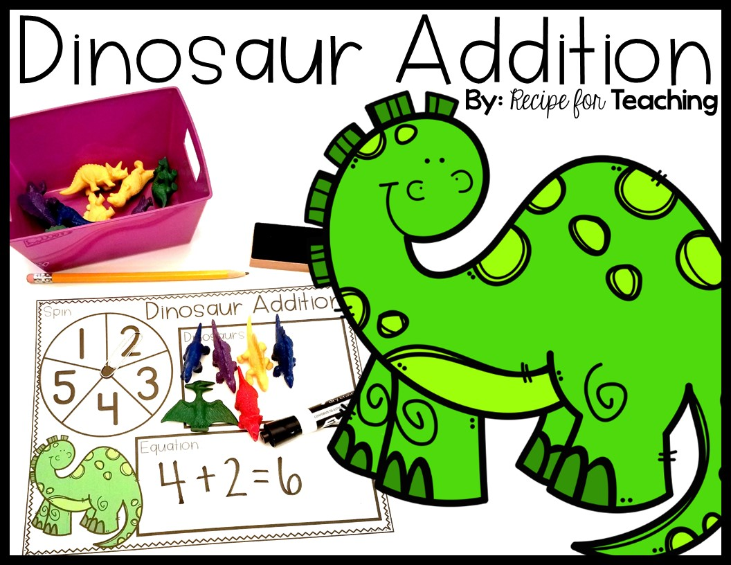Dinosaur Addition - Recipe for Teaching