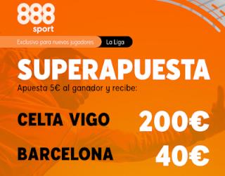 888sport Superapuesta Liga Celta vs Barcelona 27 junio 2020