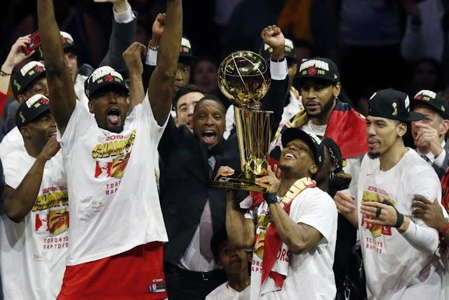 Toronto Raptor Menjadi Tim Kanada Pertama yang Menjuarai NBA