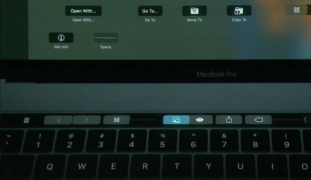 MacBook Pro ganha Touch Bar no teclado
