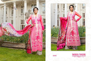 Shree fab Sobia nazir Embroidered pakistani Suits wholesale price