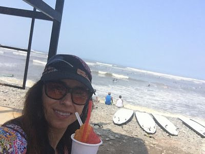 Miraflores. Playa waikiki. Lima. Perú