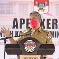 FDW Pimpin Apel Kerja Perdana Pemkab Minsel
