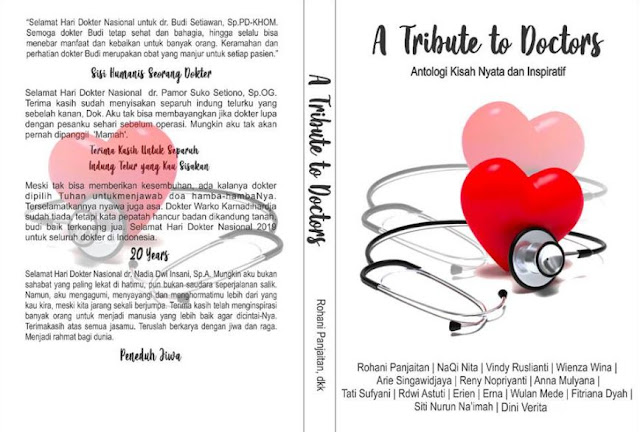 Buku Antologi A Tribute to Doctors