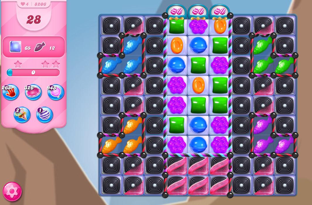 Candy Crush Saga level 8206