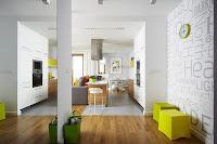 Modern apartment interior design idea