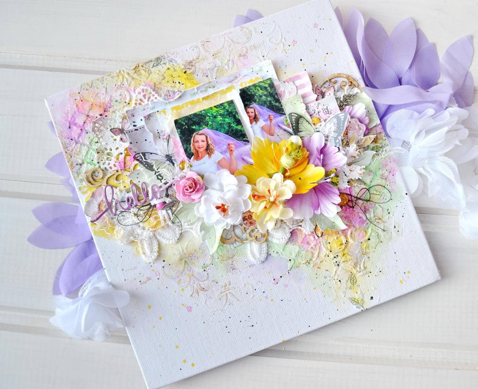 Картинки, открытка на холсте
