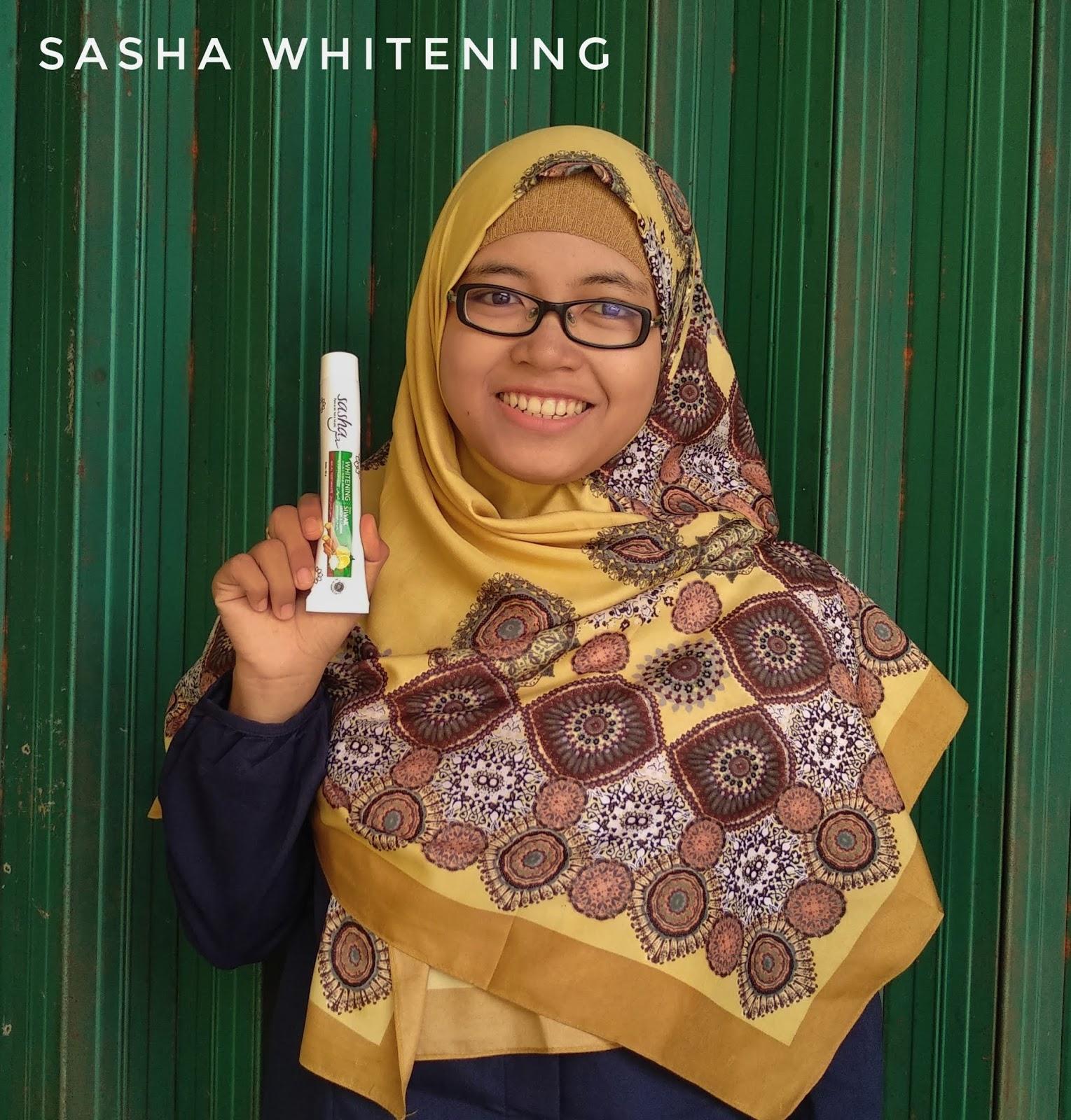 sasha mengandung siwak