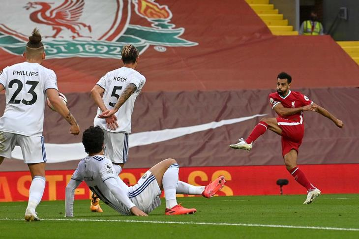 شاهد هاتريك صلاح.. ليفربول يحقق فوزًا مثيرًا على ليدز بافتتاح الدورى الانجليزي