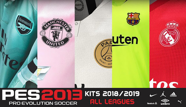Update Jersey PES 2013