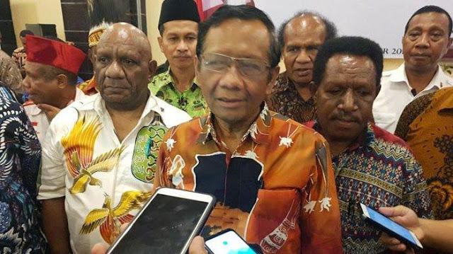 Mahfud Md: Papua Akan Dimekarkan Jadi 5 Wilayah