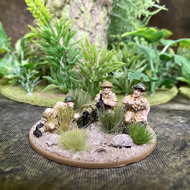 28mm Bolt Action WW2  Miniatures: Royal Norfork Regiment  Singapore