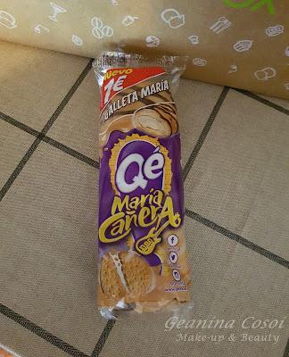 Caña con cobertura y relleno de crema con sabor a galleta Maria Qé! Caja Degustabox - Junio ´16