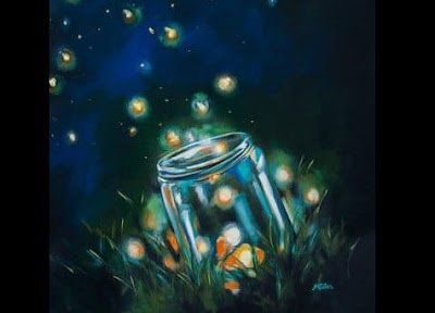 A Field of Lightning Bugs by Tammy Lang Jensen