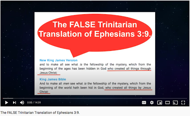 The FALSE Trinitarian Translations.