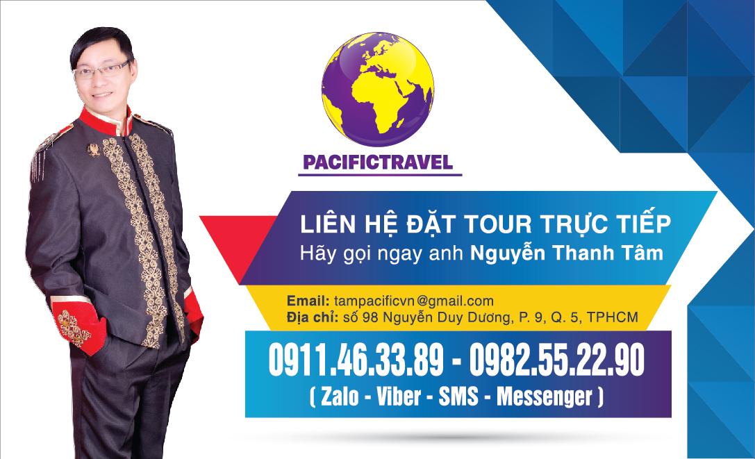 Thông tin doanh nghiệp Công Ty TNHH Pacific Travel