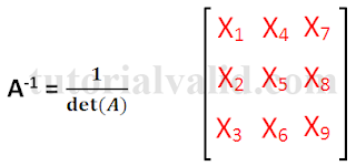 Invers Matriks 3x3
