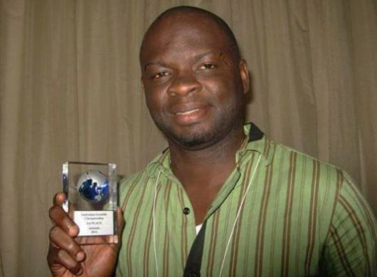 Meet Nigeria's Saidu Ayorinde; New No.1 Scrabble Player