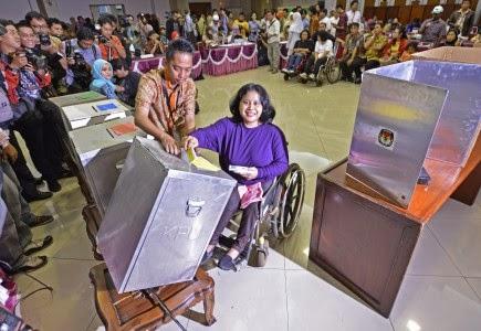 JPPR: Pemilih Disabilitas Meningkat Tajam